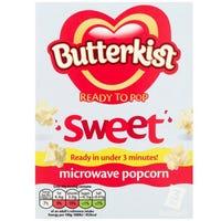 Butterkist Microwave Popcorn Sweet 3 x 60g