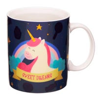 Heat Colour Changing Mug Unicorn Design
