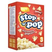 Microwave Sweet Popcorn 3 x 85g