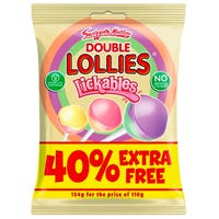 Swizzells Lickables Double Lollies 154g