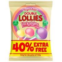 Swizzells Lickables Double Lollies 154g