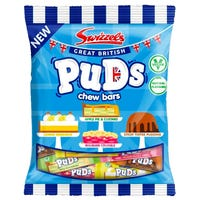 Swizzels Puds Chewy Sweet Bars 150g