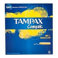 Tampax Compak Regular 8's