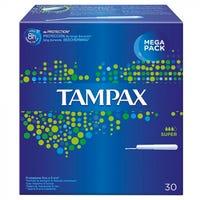 Tampax Tampons Super 30 Pack