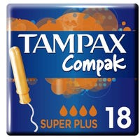 Tampax Compak Super Plus 18 Pack