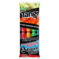 Tango 2 In 1 Ice Pops 8 Pack 75ml