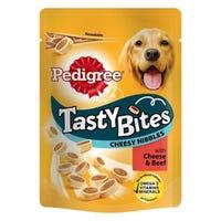 Pedigree Tasty Bites Cheese & Beef 140g
