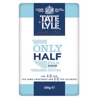 Tate & Lyle Fairtrade Only Half Sugar 500g