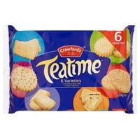 Crawford Teatime Biscuit Variety 275g