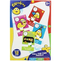 Cbeebies My First Puzzle Tell The Time