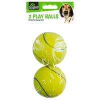 Pet Play Tennis Balls 2 Pack
