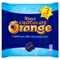 Terry's Chocolate Orange Bars 3 Pack