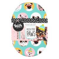 The Beauty Parlour Preen Your Paws Manicure Kit 6 Piece