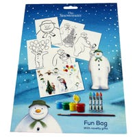 The Snowman Fun Bag with Novelty Gifts