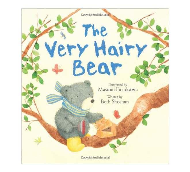 The Very Hairy Bear Hardback Book
