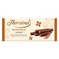 Thornton's Caramel Wafer Rolls 110g