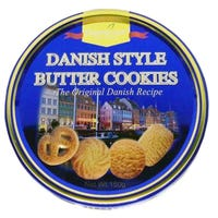 Thurstons Danish Style Butter Cookies Tin 150g