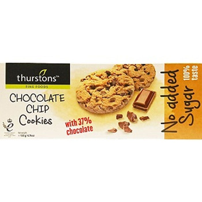 Thurstons Chocolate Chip Cookies 135g