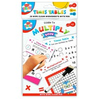 Times Table A5 Wipe Clean Book