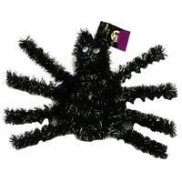 Halloween Creepy Tinsel Spider Decoration