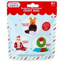 Tinsel Town Surprise Christmas Craft Bag