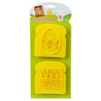 Happy Easter Toast Stamp