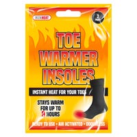 Toe Warmer Insoles 2 Pack