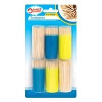 Wooden Tooth Picks 6 x 100 Pack