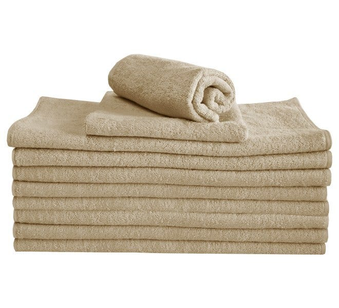 100% Cotton Hand Towel - Mink