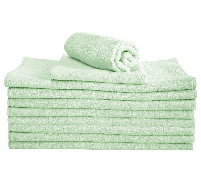 100% Cotton Hand Towel - Mint