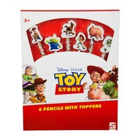 Toy Story Pencils and Toppers 6 Pack
