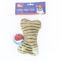 Pet Touch Plush Dog Toy with 2.5 inch Ball