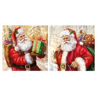 Traditional Santa Cards 12 Pack