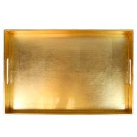 Serving Tray in Gold