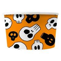 Halloween Treat Tubs Orange 8 Pack