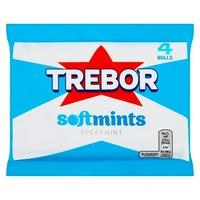 Trebor Softmints Spearmint Mints 4 Pack