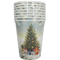 Christmas Tree Paper Cups 8 Pack