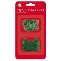 Green Tree Hooks 200 Pack