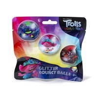 Trolls Glitter Bouncy Balls