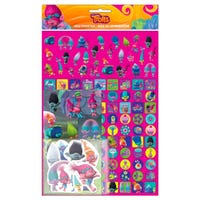 Trolls Mega Sticker Pack