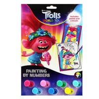 Trolls 2 Paint By Numbers