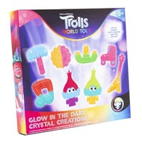 Trolls 2 Glow in the Dark Crystal Creations