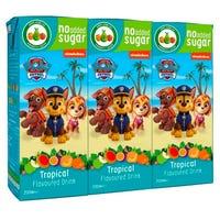 Paw Patrol Tropical Fruit Drink 3 Pack