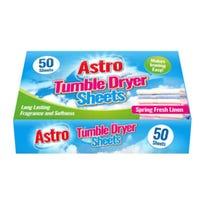 Fresh Linen Fragrance Tumble Dryer Sheets 50 Pack