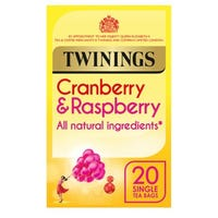 Twinings Cranberry and Raspberry 20 Pack
