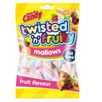 Fruit Flavoured Mini Twisted Marshmallows 250g
