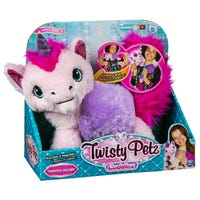 Twisty Petz Cuddlez Unicorn Plush Toy