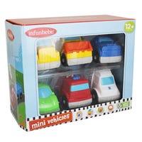 Mini Vehicles 6 Pack