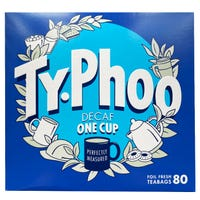Typhoo One Cup Decaf 80 Tea Bags