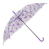 Printed Umbrella Purple